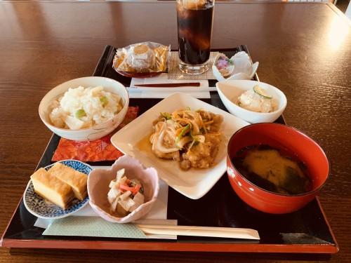 真盛堂カフェ甘味茶蔵5月ランチ