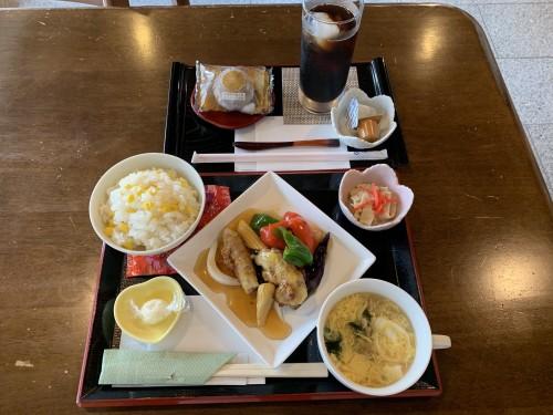 7月真盛堂和カフェ甘味茶蔵ランチ