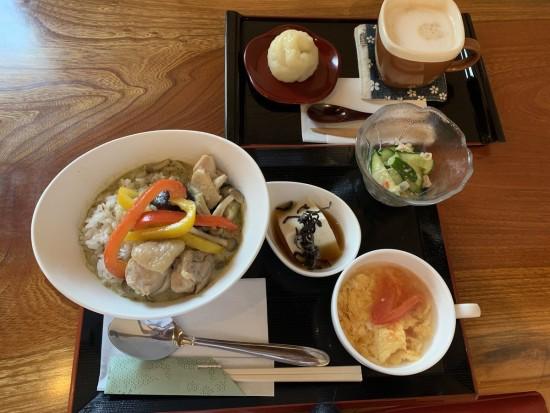 真盛堂カフェ甘味茶蔵9月ランチ